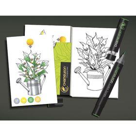 Cartoes-de-Colorir-10x15-cm-com-16-Flores--CC0102-2