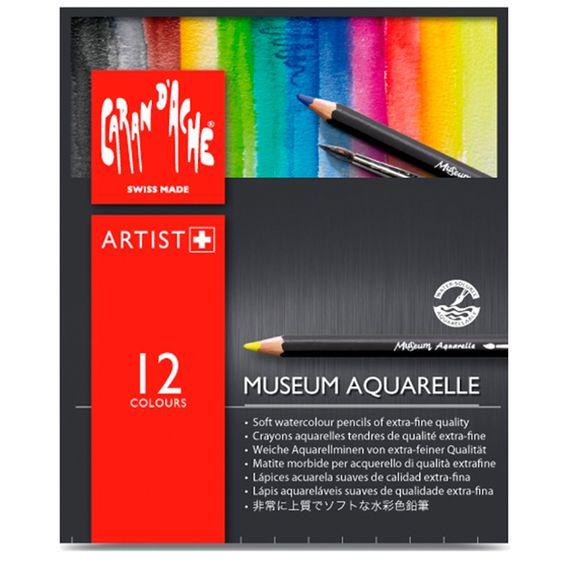 Estojo-de-Lapis-Museum-Aquarelavel-Caran-D-Ache-com-12-cores-–-3510---312-2