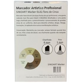 Marcador-Artistico-Profissional-Marker-Sinoart-–-0140---06-Cores-–-Cinza-2
