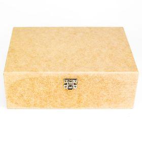 Caixa-para-Mini-Vinho-Dupla-com-Fecho-e-Dobradica-de-MDF-Madeira-Crua-Tamanho-245-x-18-x-87-cm