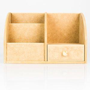 Kit-para-Mesa-de-Escritorio-com-Gaveta-de-MDF-Madeira-Crua-Tamanho-21-x-135-x-135-cm