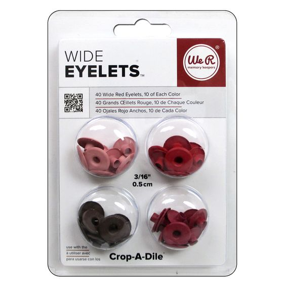 Ilhos-Wide-Eyelets-We-R-MemoryKeepers---40-Unidades---Red-41585-5