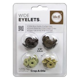Ilhos-Wide-Eyelets-We-R-Memory-Keepers---40-Unidades---Brown-41593-0