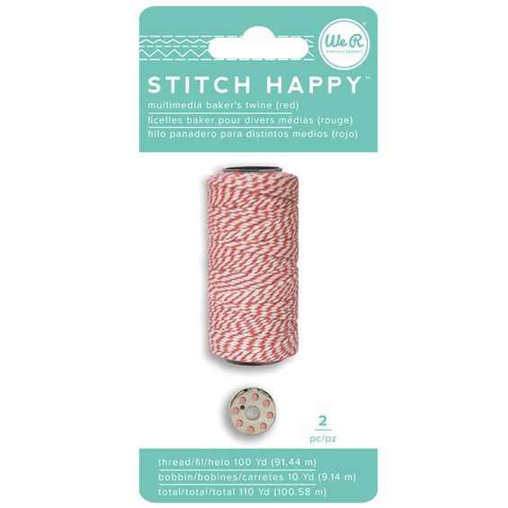 Linha_de_Costura_Multiuso_Stitch_Happy_We_R_Memory_Keepers_Bake-s_Twine_Vermelha_663032