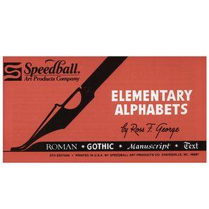 Livro_para_Caligrafia_Speedball_Alphabets_Elementary_3066