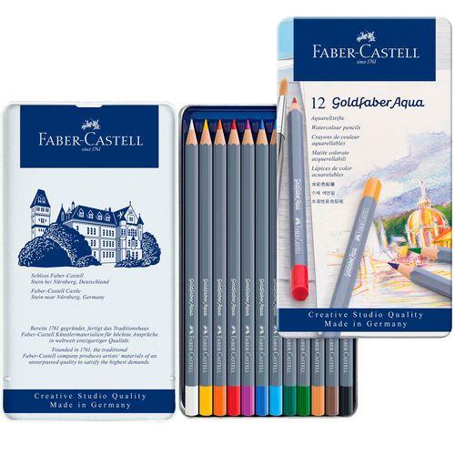 Lapis-Aquarelavel-Goldfaber-Aqua-Faber-Castell-Ref-114612-00