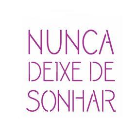 14x14-Simples---Frase-Nunca-Deixe-de-Sonhar---OPA2438