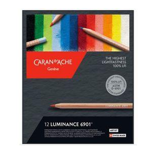 Lapis-Mina-Permanente-Caran-D-Ache-Luminance-6901-com-12-Cores---6901.712.-0-