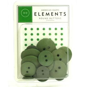 82133-american-crafts-elements-round-buttons--evergreen-1
