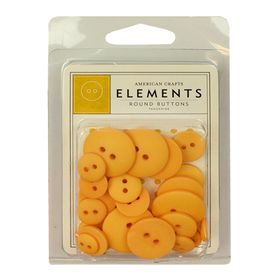 82144-american-crafts-elements-round-buttons-tangerine-1