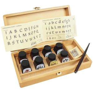 calligraphy--wooden-box-winsor-e-newton-com-15-pecas-1190193-2