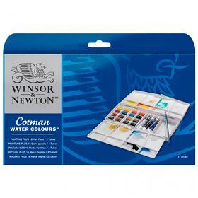 Aquarela-Winsor---Newton-Cotman-Painting-Plus-21-Pecas-0-