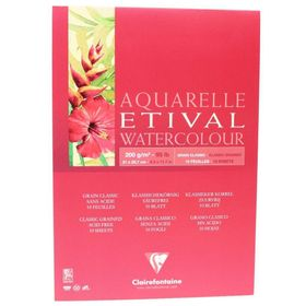 Clairefontaine-Etival-A4-Classic-Grained--200-g-10-Sheets