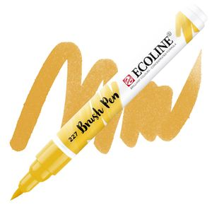 brush-pen-ecoline-talens-227-yellow-ochre