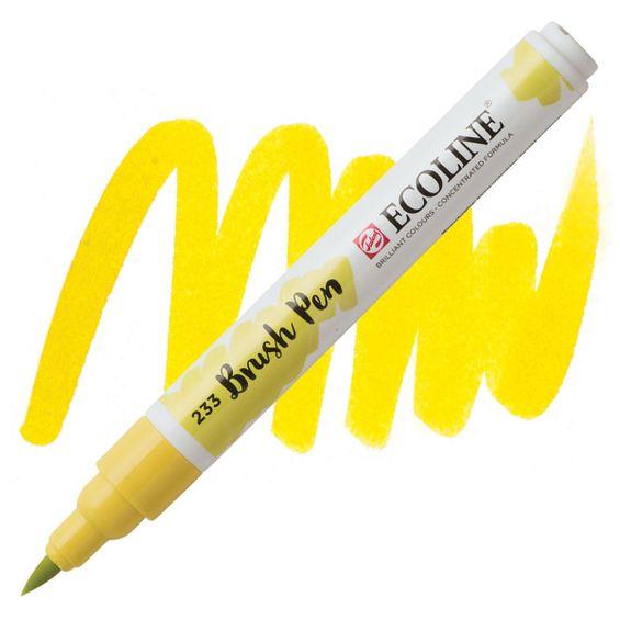 brush-pen-ecoline-talens233-Chartreuse