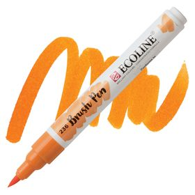 brush-pen-ecoline-talens-236-light-orange