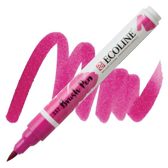 brush-pen-ecoline-talens-337-Magenta