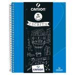 caderno_canson_pautado_80flhs_-A4_90GM2_-AZ-TURQUESA