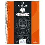 caderno_canson_pautado_80flhs_-A4_90GM2_LARANJA