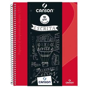 caderno_canson_pautado_80flhs_-A4_90GM2_vermelho