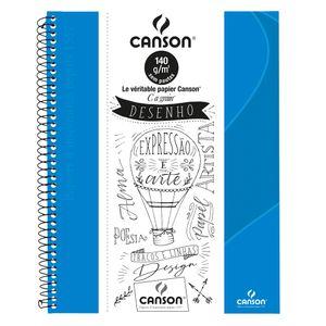 caderno_canson_sem_pauta_80flhs_-A4_140GM2_-AZ-TURQUESA