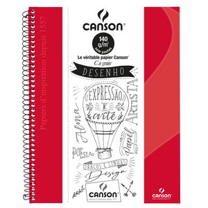 caderno_canson_sem_pauta_80flhs_-A4_140GM2_vermelho