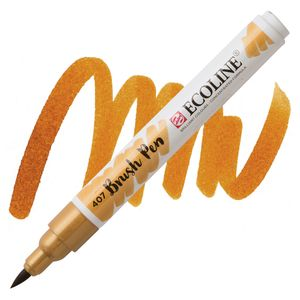 brush-pen-ecoline-talens-407-deep-ochre