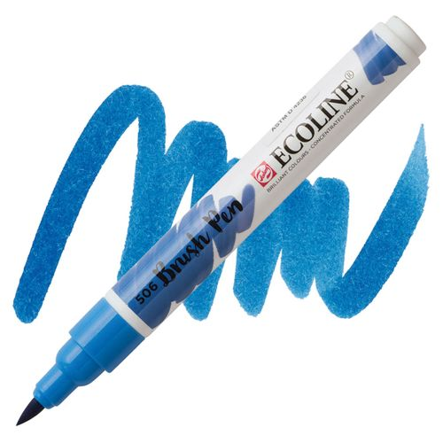 brush-pen-ecoline-talens-506-Ultramarine-Deep