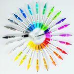 brush-pen-ecoline-talens-canetas-e-suas-cores-variadas