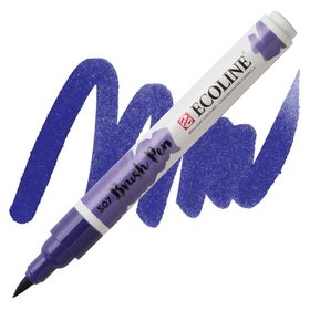 brush-pen-ecoline-talens-Ultramarine-Violet-507
