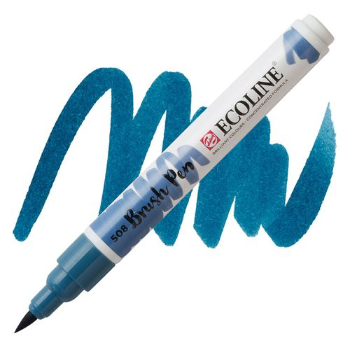 brush-pen-ecoline-talens508-prussian-blue