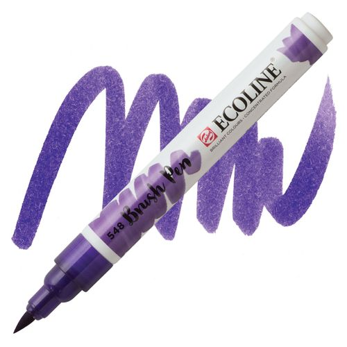 brush-pen-ecoline-talens-548-Blue-Violet