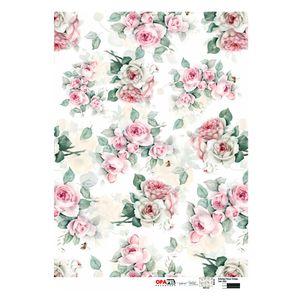 Papel-para-Decoupage-Opa-Opapel–2563–Estampa-Flores-Rosa-Vintage-30x45