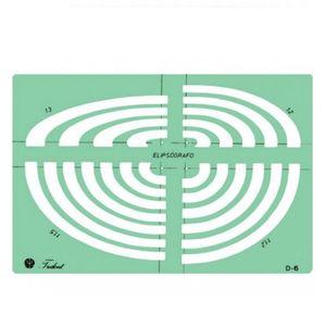 Gabarito-para-Desenho-de-Elipsografo-Trident-245-x-16-cm---Ref.-D-6