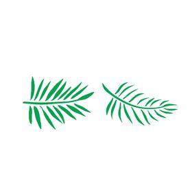 stencil-10x30-Folhas-de-Palmeira-OPA-2569