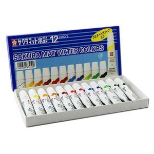 Tinta-Aquarela-Mat-Water-Colors-Sakura-com-12-cores--EMW-12-
