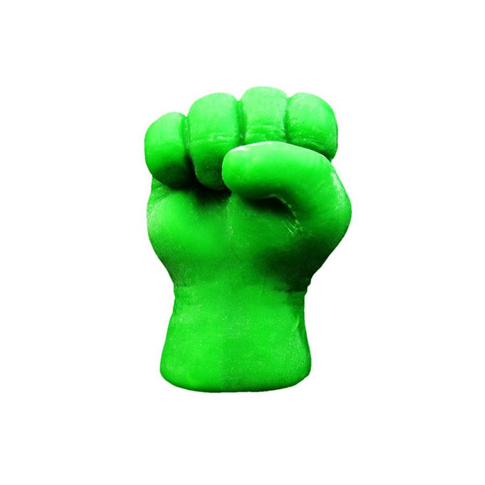 Molde De Silicone Para Biscuit Casa Da Arte Modelo Soco Do Hulk