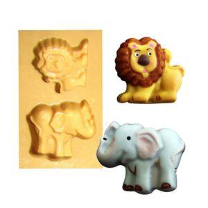 1377---Elefante-e-leao---c