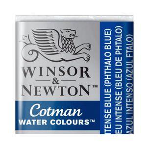 Tinta-Aquarela-Pastilha-Cotman-Winsor---Newton-327-Intense-Blue