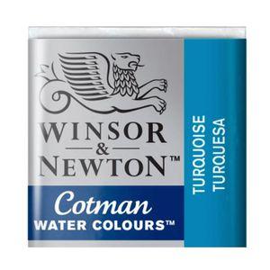 Tinta-Aquarela-Pastilha-Cotman-Winsor---Newton-654-Turquoise