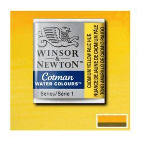Tinta-Aquarela-Pastilha-Cotman-Winsor---Newton-109-Cadmium-Yellow-Pale-Hue-1-