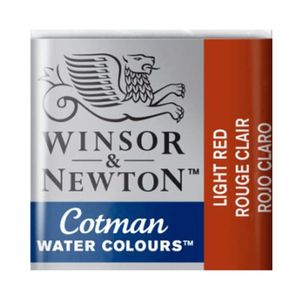 Tinta-Aquarela-Pastilha-Cotman-Winsor---Newton-light-red-362