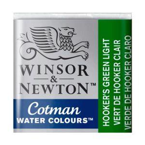 Tinta-Aquarela-Pastilha-Cotman-Winsor---Newton-314-Hook-Green-Lig