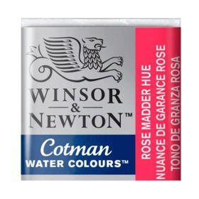 Tinta-Aquarela-Pastilha-Cotman-Winsor---Newton-580-Rose-Madder-Hue