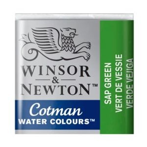 Tinta-Aquarela-Pastilha-Cotman-Winsor---Newton-Sap-Green-599