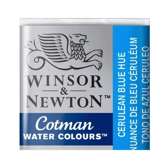 Tinta-Aquarela-Pastilha-Cotman-Winsor---Newton-139-Ceruleam-Blue_hue