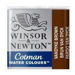 Tinta-Aquarela-Pastilha-Cotman-Winsor---Newton-676-Vandyke-Brown
