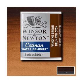 Tinta-Aquarela-Pastilha-Cotman-Winsor---Newton-676-Vandyke-Brown-1-