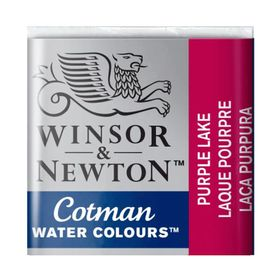 Tinta-Aquarela-Pastilha-Cotman-Winsor---Newton-544-Purple-Lake