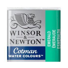 Tinta-Aquarela-Pastilha-Cotman-Winsor---Newton-235-Emerald